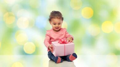 Photo of Darila za otroke, mlajše od treh let