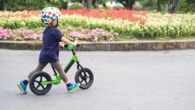 Photo of Otroški poganjalec za razvoj ravnotežja